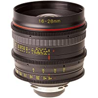 Tokina Cinema AT-X 16-28mm T3.0 Wideangle Zoom Lens, 13 Groups /15 Elements, 0.28m/0.92 Closest Focusing Distance