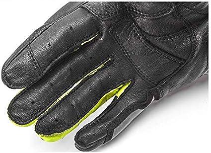Motorradhandschuhe aus Leder f/ür Herren//Damen Professionelle Atmungsaktiver Motorrad Handschuh mit Schutz Kohlefaser