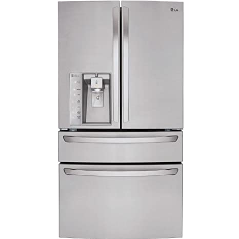 Superbe LG LMXS30746S French Door Refrigerator With 30 Cu. Ft. Capacity, In  Stainless Steel