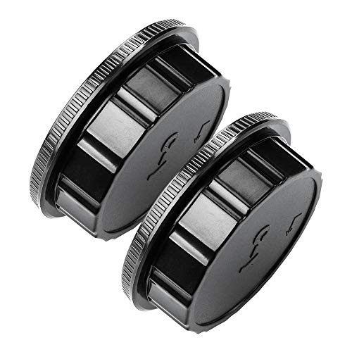 Body Cap and Lens Rear Cap Cover Replacement Set for CONTAX Yashica C/Y Mount Lens&Cameras,2 -