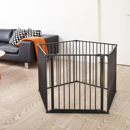 Barrera de seguridad XXL sistema modular y flexible BabyDan color negro