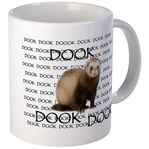 (CafePress DOOKING FERRET Mug Unique Coffee Mug, Coffee)