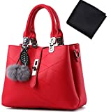 CureAL Women's Handbag Tote Bag Spring PU Leather