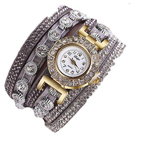 Celendi_Jewelry Fashion Watch Casual Analog Quartz Bracelet Watch Gift for Women ()