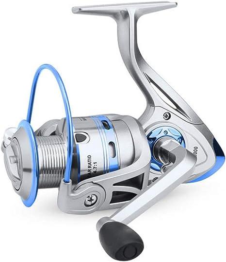 GaHfh Carrete de Pesca de Spinning Ligero 1000-6000 Series,12 ...