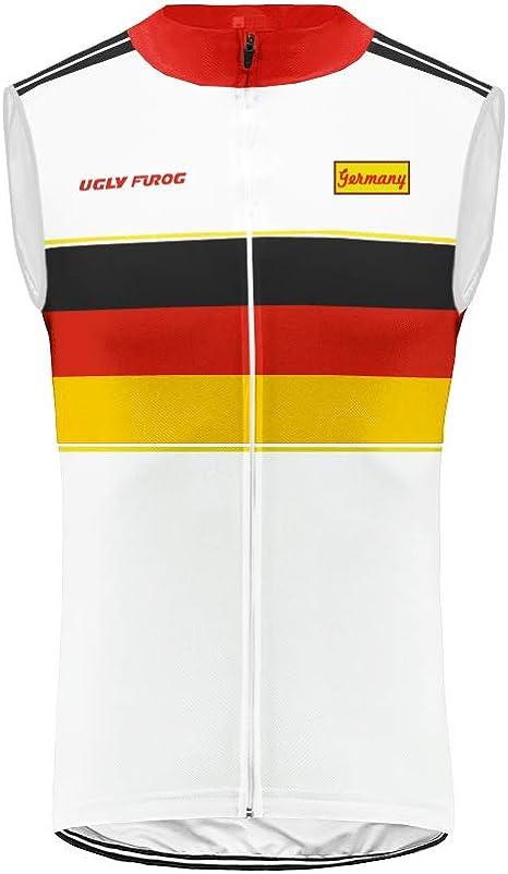 Uglyfrog – Chaleco de ciclismo para hombre con diseño de bandera ...