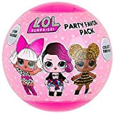BirthdayExpress LOL Surprise Party Supplies Favor Ball 3 Pack