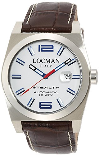 LOCMAN watch stealth automatic mechanical self-winding Men's 0205 020500WHFBL0PST Men's [regular imported goods]