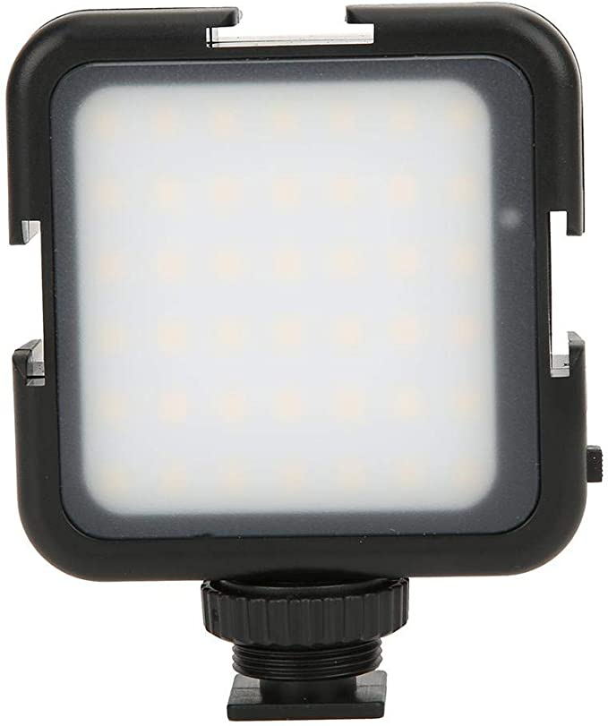 42LED High CRI 6000K Color Temperature Photography Fill Light for Indoor//Outdoor Photography Good Brightness Portable Video Light