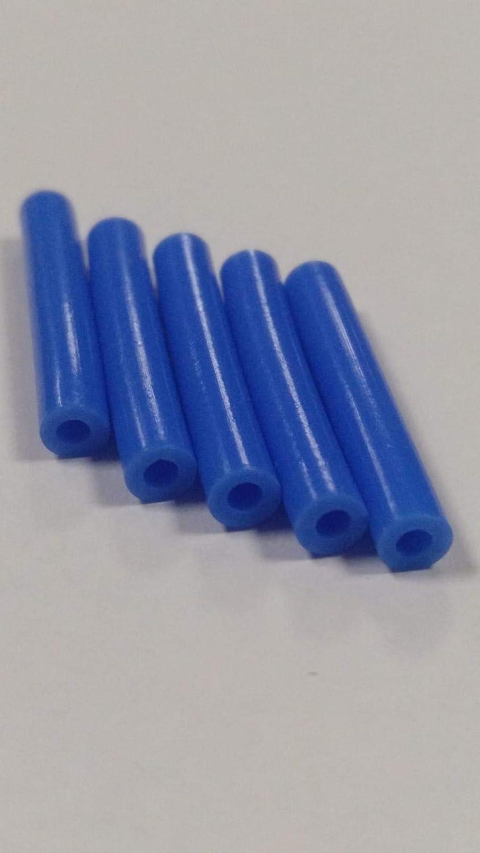 5 Tubos de teflón 3D para boquilla, PTFE 1,75 mm filamento ID 1,9 ...