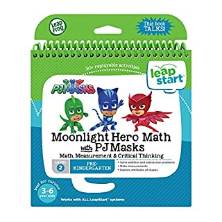 LeapFrog LeapStart Book, Moonlight Hero Math With Pj Masks