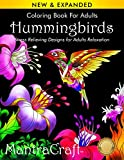 Coloring Book for Adults: Hummingbirds: Stress Relieving Designs for Adults Relaxation