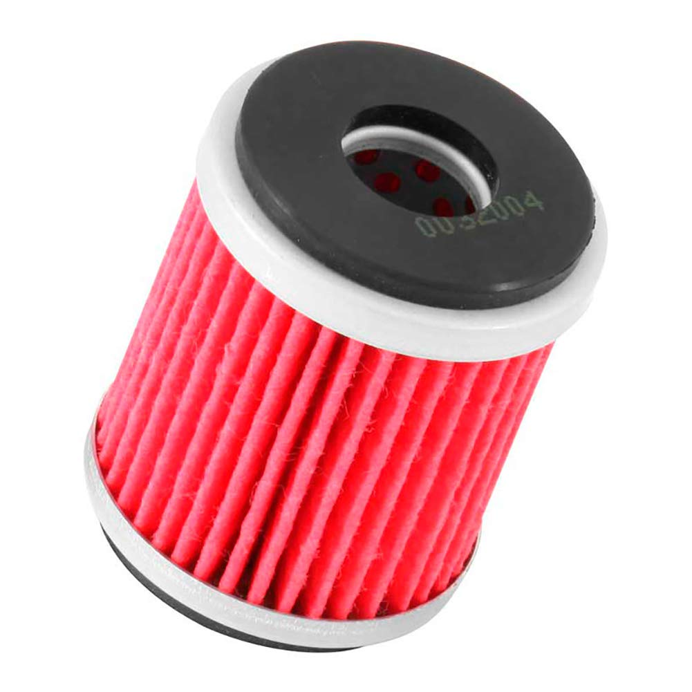 K&N Motorcycle Oil Filter: Premium High Performance Oil Filterdesigned to be used with synthetic or conventional oils fits Yamaha Raptor, Big Bear, TTR, WR, YZOil Filter KN-142