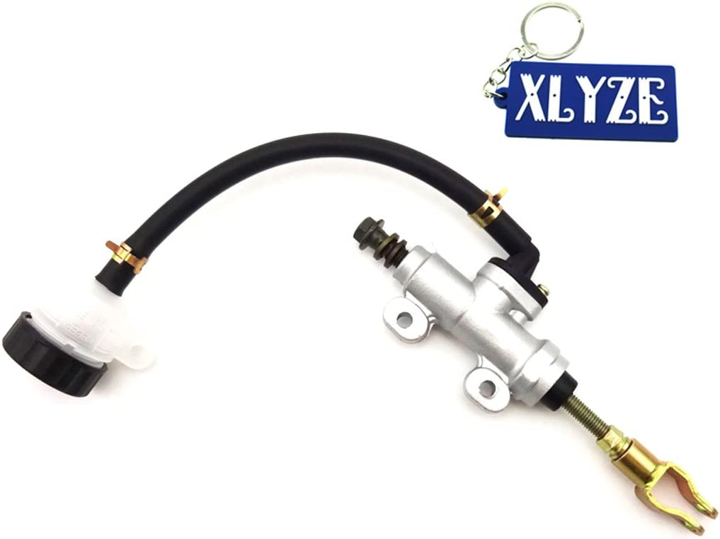 Xlyze Chinesisch Atv Fuß Bremse Hinten Pumpe Zylinder Maestro Mit Tank Für 0 Cc 70 Cc 90 Cc 110 Cc 125 Cc 150 Cc 200 Cc 250 Cc Quad 4 Wheeler Auto