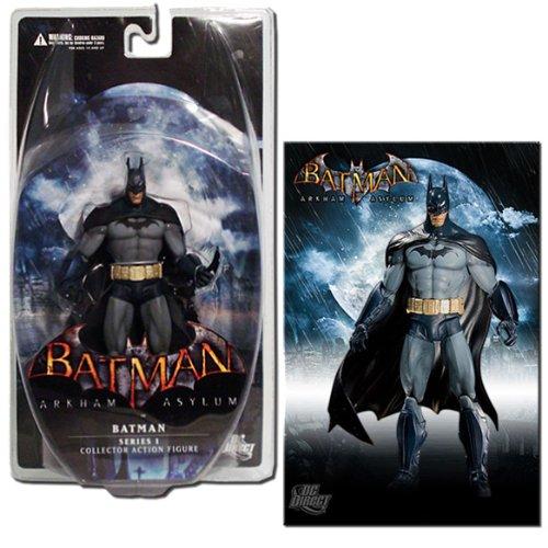 DC Direct Batman: Arkham Asylum Series 1: Batman Action Figure