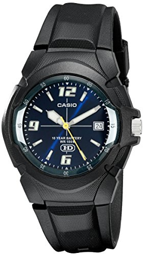 CASIO Men's MW600F-2AV Sport Watch with Black Resin - Combination Watch Sports