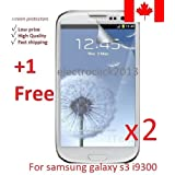Electroclick x 3 HD Clear film guard screen protector cover shield LCD for Samsung Galaxy S3 I9300
