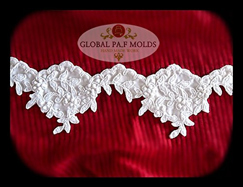 Sugarcraft Mold Polymer Clay Molds Cake Decorating Tools lace mold 66576