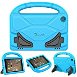 PC Hardware : Case for Amazon Fire HD 8 Tablet (2017 and 2016 Release, 7th / 6th Generation) - Riaour Kids Shock Proof Protective Cover Case for Amazon Fire HD 8 Tablet (Sky)