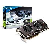 MSI NVIDIA Geforce GTX 660 Ti 3GB GDDR5 OC 2DVI/HDMI/DisplayPort PCI-Express Video Card N660TI TF 3GD5/OC