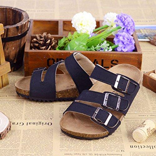Unisex Kids' Flip Flops Cork Sandals - Toddler Girls Boys Open-Toe Sandals:  Amazon.co.uk: Shoes & Bags