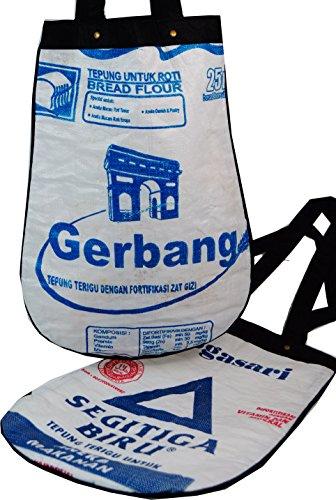 Custodia Upcycling, sacchetto in riciclati Upcyceling borse/riso Sack