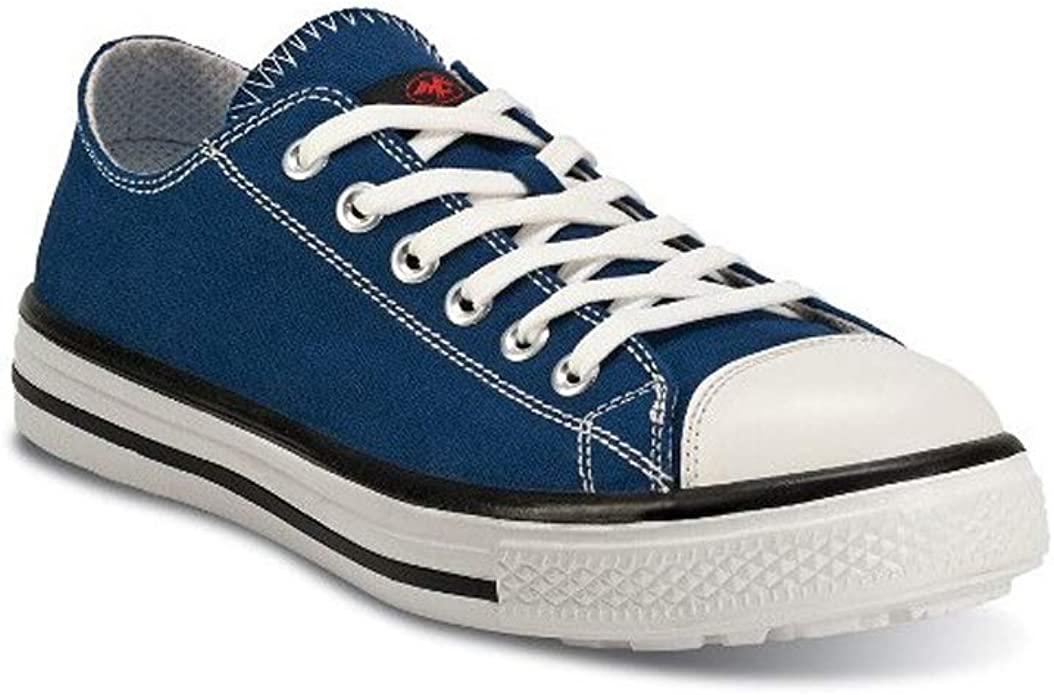 Basket Basse de sécurité Bleu S1P Style Converse - Blues Low ...