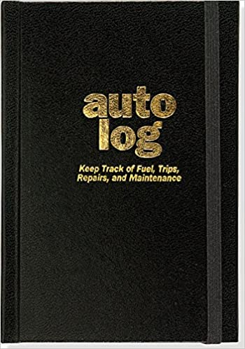 Auto Log Book Peter Pauper Press 9781441319586 Books