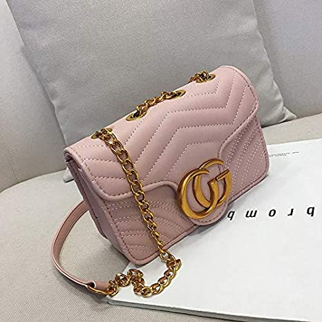 ba43fecac1e4 Gentle C GC Marment Style 443497 Small matelassé Shoulder Bag Pocketbooks  for Women-Small Pink