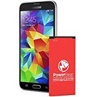 PowerBear Samsung Galaxy S5 Battery (2,800 mAh) Upgraded...