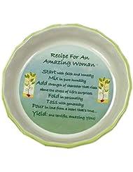 Amazing Woman Pie Plate