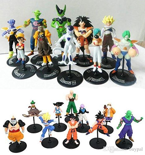 Dragon Ball Z GT Action Figures Crazy Party 10CM Cell/Freeza/Goku PVC Dragonball Figures Best Gift 20pcs/set by PJ's Toybox