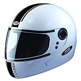 Studds Chrome Eco Full Face Helmet (White, L 580MM)