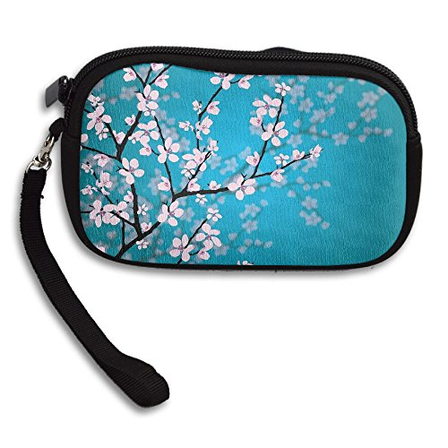 Japanese Sakura Deluxe Purse Portable Bag Printing Small Flowers Receiving zrdHwxqz