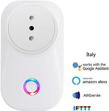 5x Wifi Smart Douille Prise Maison Voix à Distance Support pour Alexa Google #