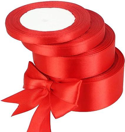 """Ruban De Velours Cadeau Noeud 10 Couleur Mariage Craft simple face 10 M 10 mm 3//8/"""""""