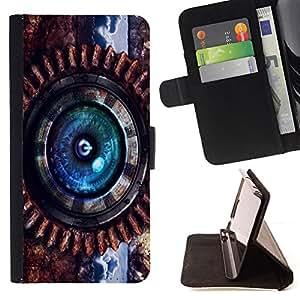 - Steam punk Power - - Prima caja de la PU billetera de cuero con ranuras para tarjetas, efectivo desmontable correa para l Funny HouseFOR Sony Xperia Z3 D6603