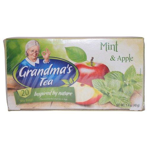 Babcia Jagoda Mint & Apple Tea 40g (Pack of 2)
