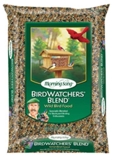 Morning Song 11956 Birdwatchers Blend-Wild Bird Food, 18-Pound ()