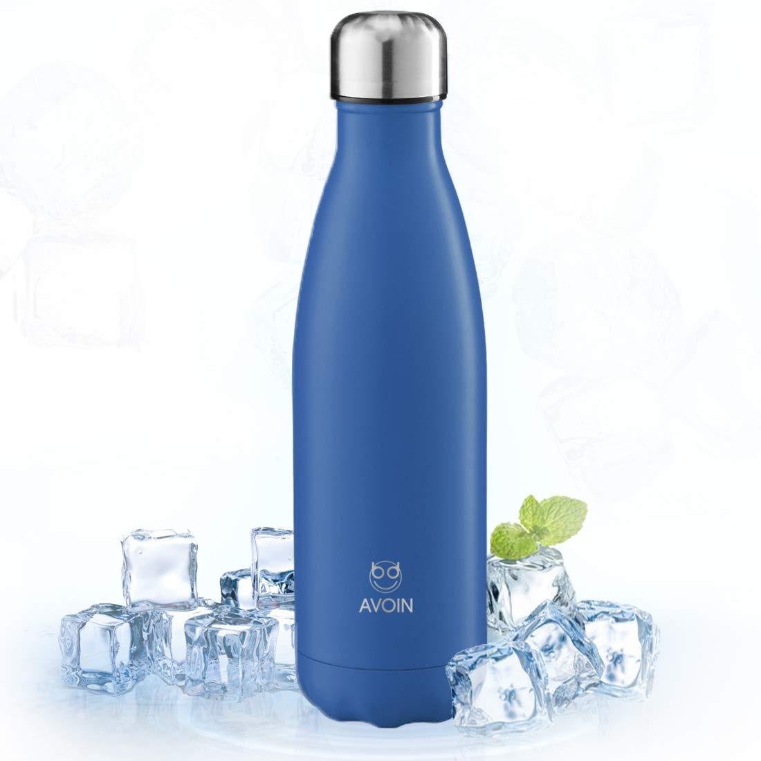 AVOIN colorlife - isolierte Edelstahl Wasserflasche BPA frei