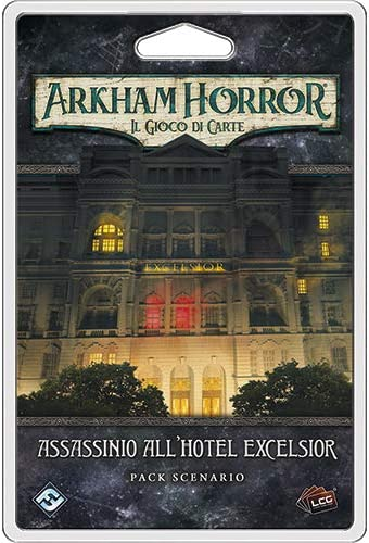 Asmodee Italia Arkham Horror LCG Assassinio al Hotel Excelsior expansión Juego de Mesa, Color, 9638: Amazon.es: Juguetes y juegos