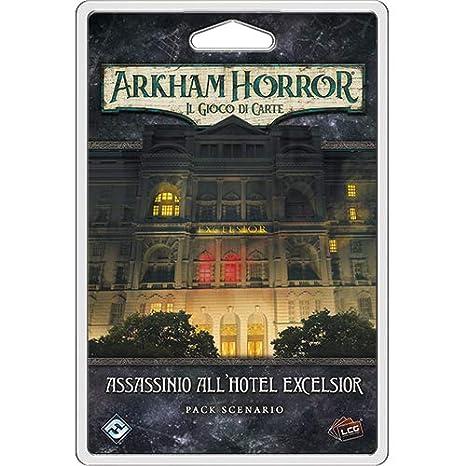 Asmodee Italia Arkham Horror LCG Assassinio al Hotel Excelsior ...