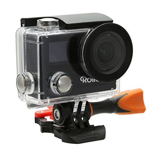 Rollei Actioncam 430 Powerful Wi-Fi Action Camcorder with 4K, 2K and Full HD Video Resolution - Black by Rollei
