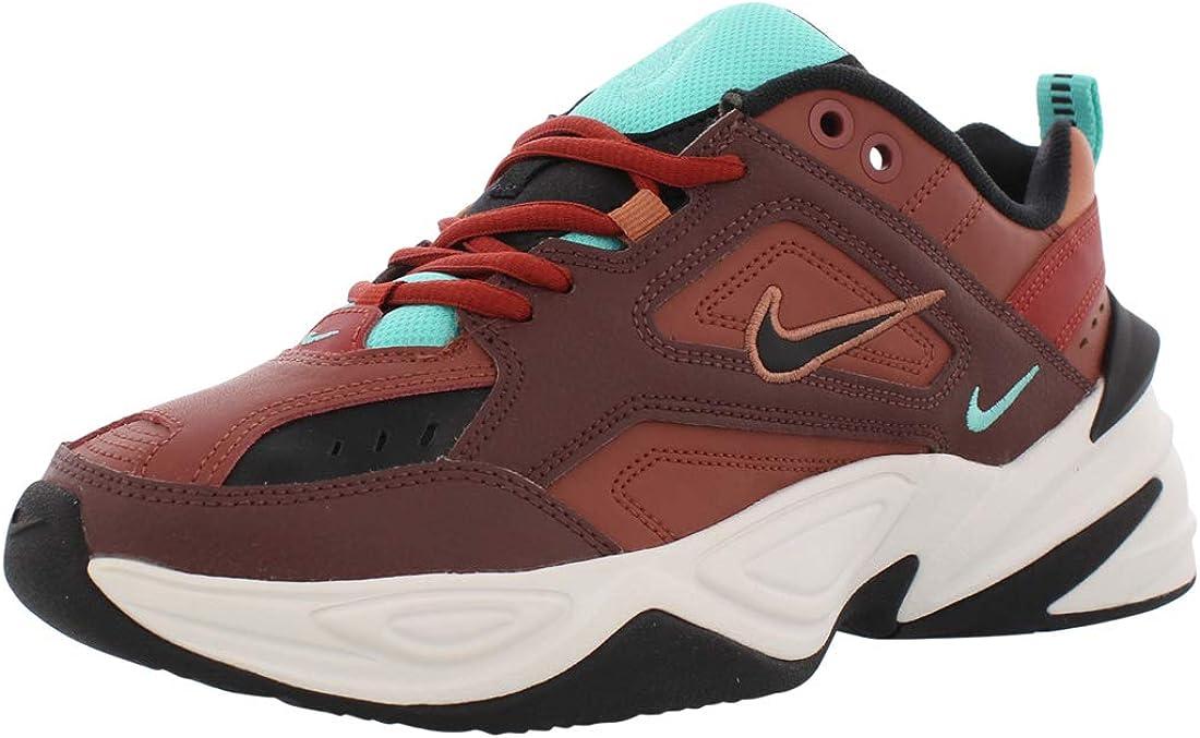 Goteo Museo Poder  Amazon.com   Nike Women's M2K Tekno Mahogany Mink/Black/Burnt Orange  AO3108-200   Fashion Sneakers