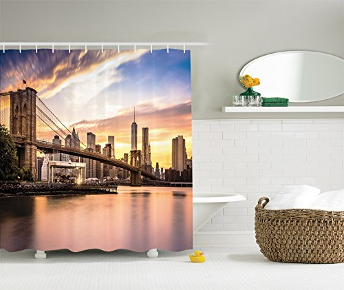 New york themed decorations for New york city bathroom decor