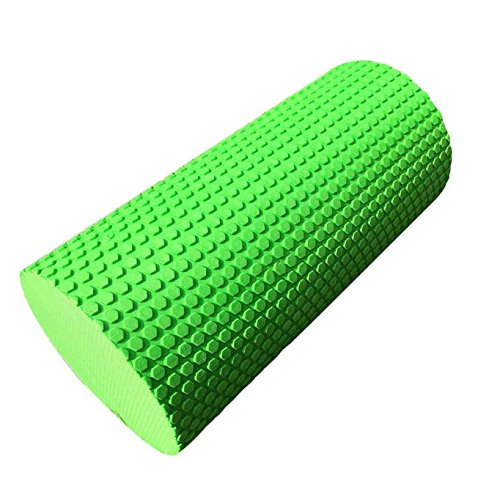 Green Zmond  30cm 5 colors Yoga Pilates Massage Fitness Gym Trigger Point Exercise Foam Roller for Muscle Relaxation