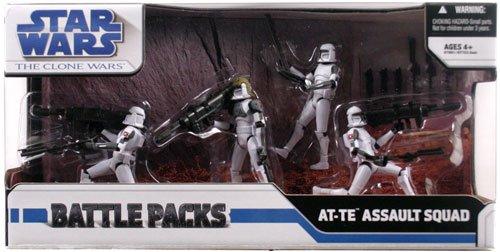 Battle Pack Assault (Hasbro Star Wars Clone Wars - AT-TE Assault Squad)