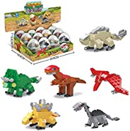 Corgy Kids Dinosaur Twisted Egg Assembled Building Blocks Educational Toys Dresses