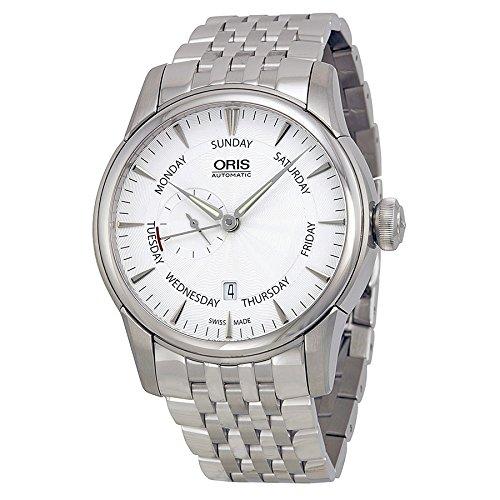Oris Artelier Silver Dial Steel Mens Watch 745-7666-4051MB