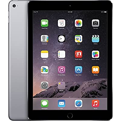 Apple IPad Air 2 WI-FI 64GB Space Gray (Renewed)